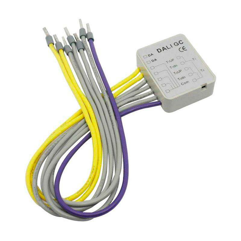 DALI Group Dimmer Module 4Ch, Regulable